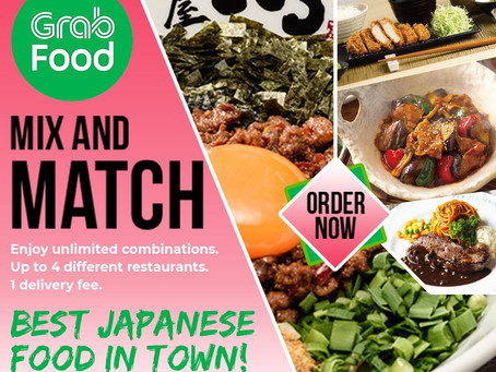 Have a variety of Japanese food in the comfort of your home!