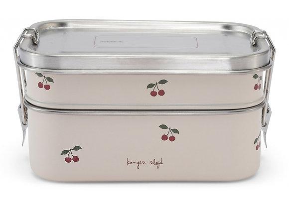 Lunch box en métal Cerises - Konges Slojd