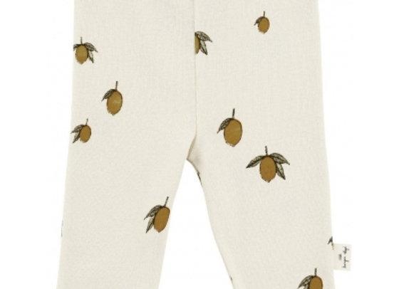 Pantalon nouveau-né citron - Konges Slojd