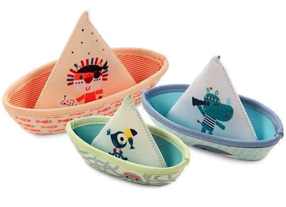 Jeu de bain 3 bateaux - Lilliputiens