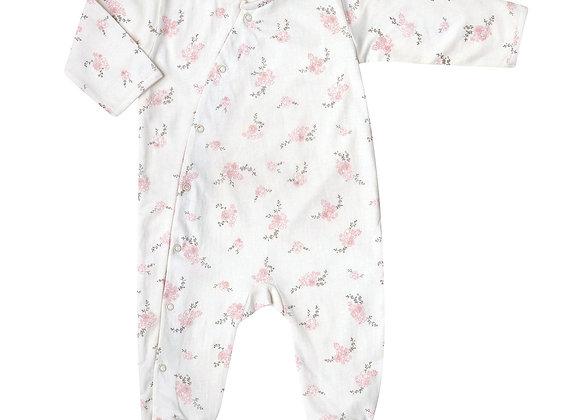 combinaison bébé jour/nuit pansies - Bonjour Little