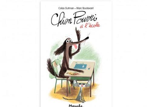 Livre Chien Pourri à l'école Ecole des loisirs - Moulin Roty