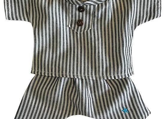 Pyjama Albert rayé - Minikane