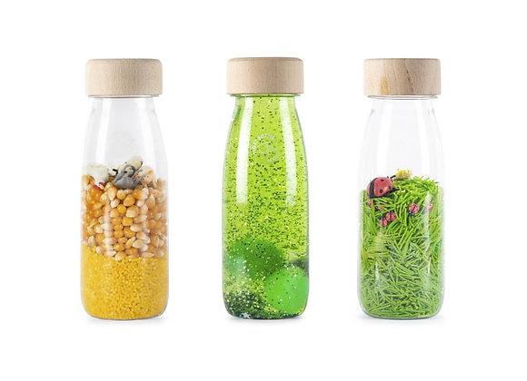 Pack de 3 bouteilles sensorielles Life - Petit boum