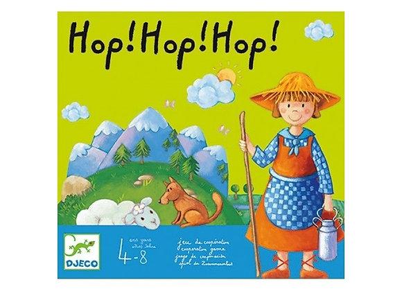 Hop hop hop Jeu de coopération - Djeco