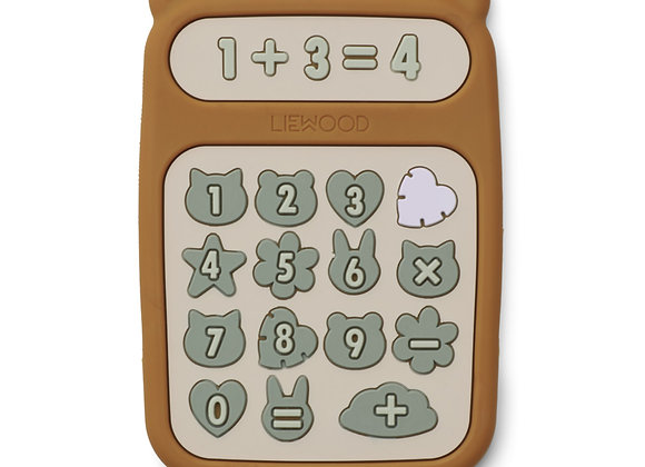 Calculatrice Niels Moutarde - Liewood