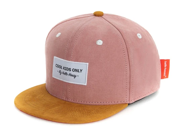 Casquette daim Suede Old Pink - Hello Hossy