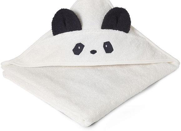 Cape de bain Augusta Panda crème - Liewood