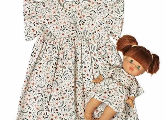 """Robe """"DAISY"""" en coton Nina - Collection Duo - Minikane"""