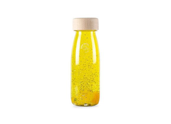 Bouteille sensorielle jaune - Petit boum