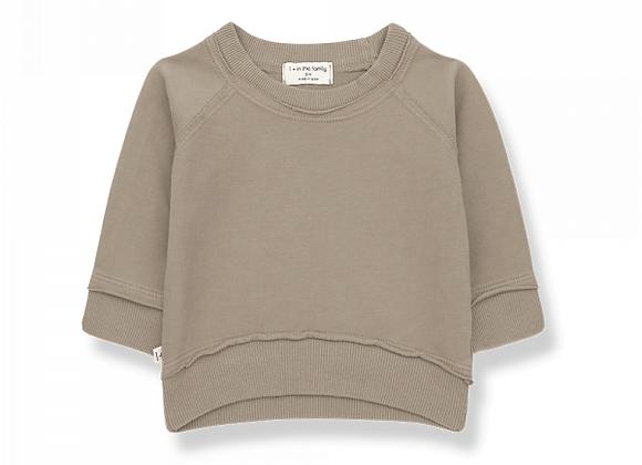 Tristan sweatshirt khaki - 1+ in the family