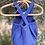 Thumbnail: Barboteuse à bretelles indigo - BB&Co