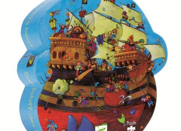 Puzzle Le bateau de Barberousse - Djeco