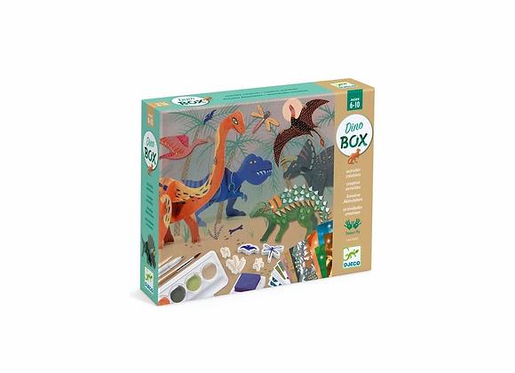 Dino Box coffret 6 activités créatives - Djeco
