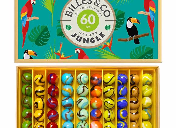 Coffret de billes Jungle - Billes&Co