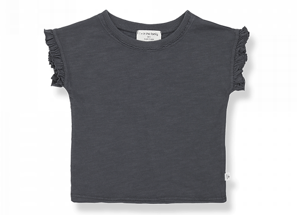 Mireia t-shirt anthracite - 1+ in the family