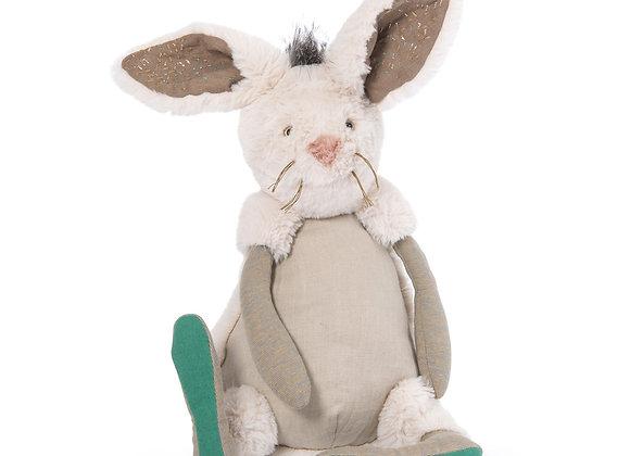 Peluche lapin Neige Rendez-vous chemin du loup - Moulin Roty