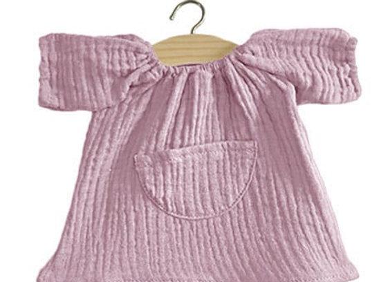 Robe Jeanne en coton double gaze Lilas - Minikane