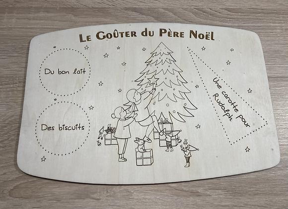 """Plateau du Père Noël """"Sapin"""""""
