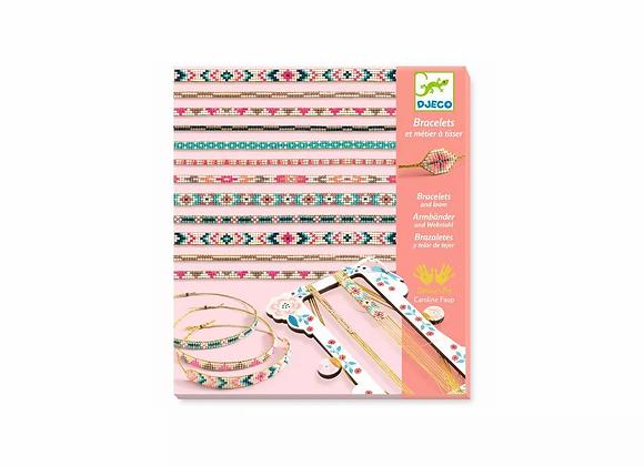 Bracelets et métier à tisser minuscules - Djeco