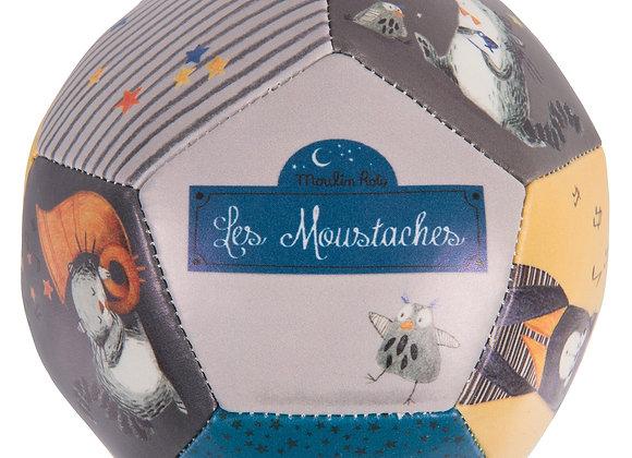 Ballon souple - Les Moustaches - Moulin Roty