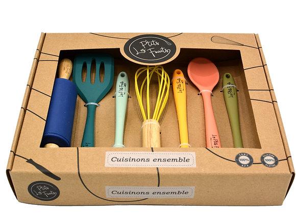 Set ustensiles de cuisine enfant - Les ptits fouets