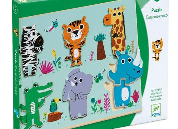 Puzzle coucou croco - Djeco