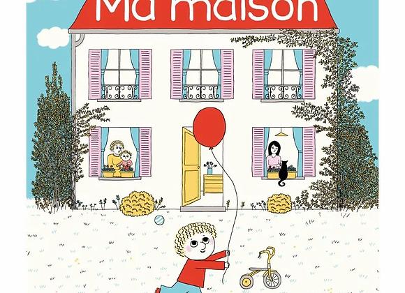 Livre Ma maison - Albin Michel