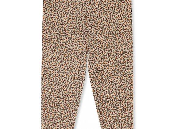 Pantalon nouveau né rosaraie red - Konges Slojd