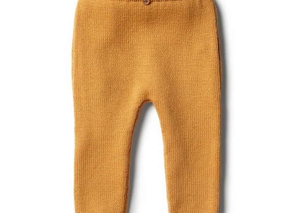 Legging Knitted Golden Apricot - Wilson & Frenchy