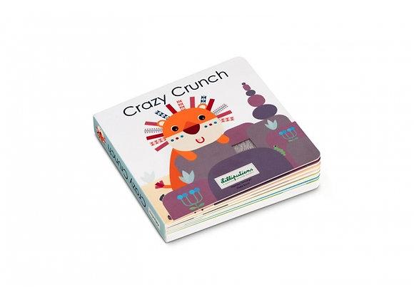 Livre tactile et sonore Crazy Crunch - Lilliputiens