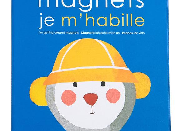 Jeu Magnétique Je m'Habille -Moulin Roty