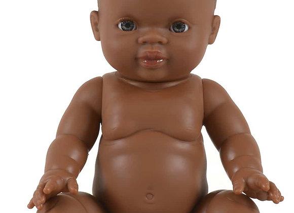 Petite fille d'Afrique yeux clairs - Minikane