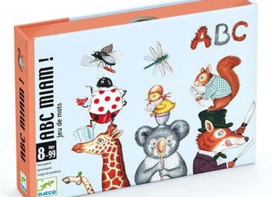 Jeu de cartes ABC miam - Djeco