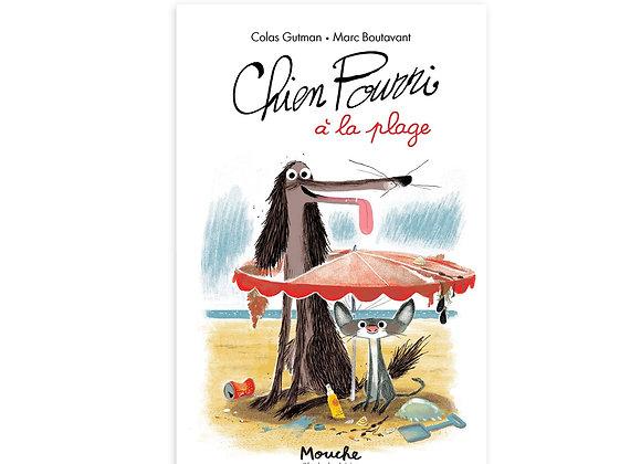 Livre Chien Pourri à la plage Ecole des loisirs - Moulin Roty
