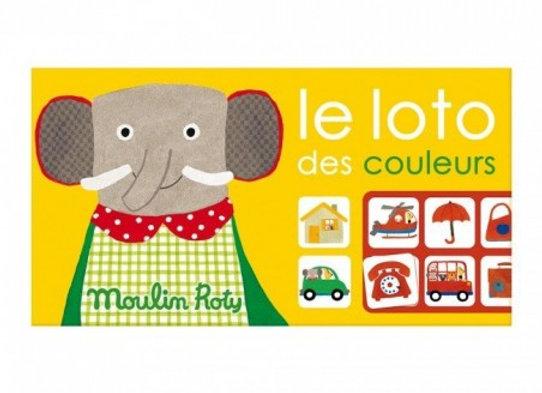 Loto des couleurs Les Popipop - Moulin Roty