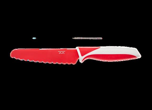 Couteau enfant rouge - KiddiKutter