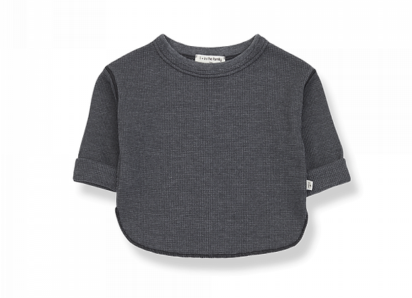 Alma t-shirt anthracite - 1+ in the family