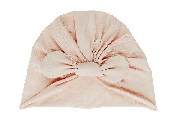 Bonnet noué nude - Bonjour Little