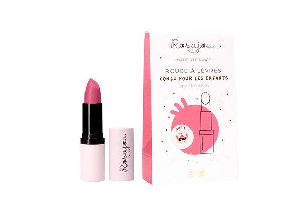 "Baume à lèvres rose ""Rubis"" - Rosajou"