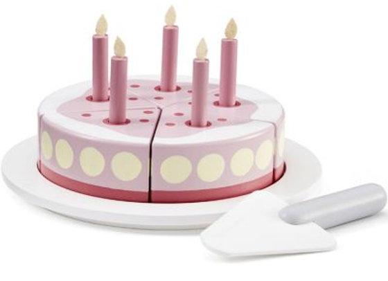 Gâteau anniversaire rose - Kids Concept
