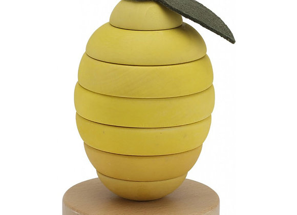 Jouet empilable citron - Konges Sløjd
