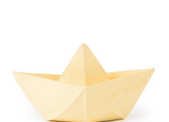 Bateau Origami Vanille - Oli & Carol