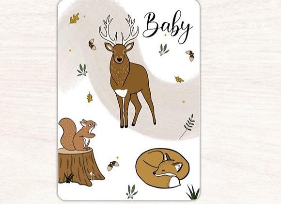 Carte postale bichon - Lily à la guimauve