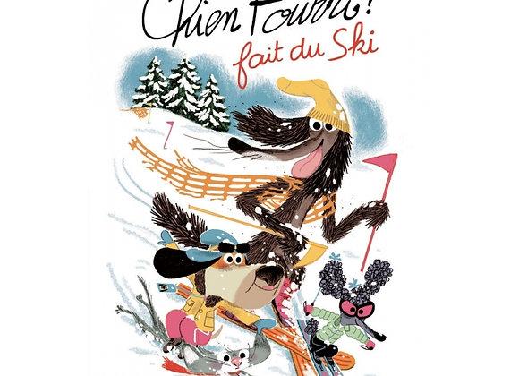 Livre Chien Pourri fait du ski Ecole des loisirs - Moulin Roty
