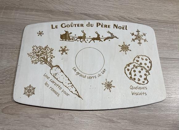 """Plateau du Père Noël """"traineau"""""""