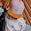 Thumbnail: Casquette daim Suede Old Pink - Hello Hossy