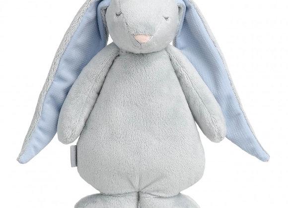 Moonie le lapin magique gris/bleu