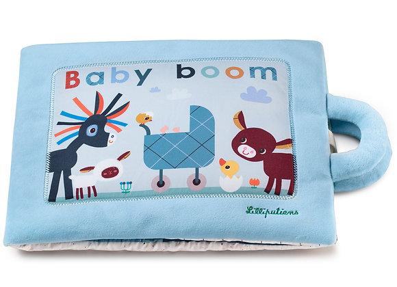 Livre d'activités Baby boom - Lilliputiens