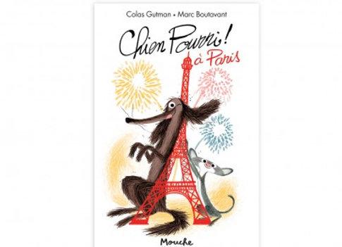 Livre Chien Pourri à Paris Ecole des loisirs - Moulin Roty
